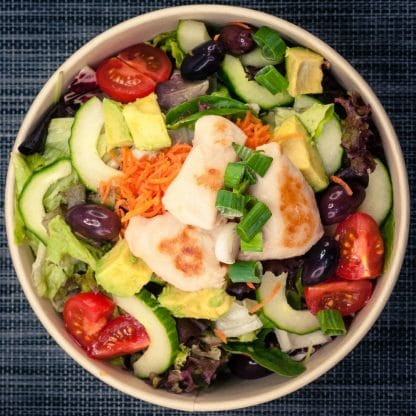 Fitness Chicken Salat